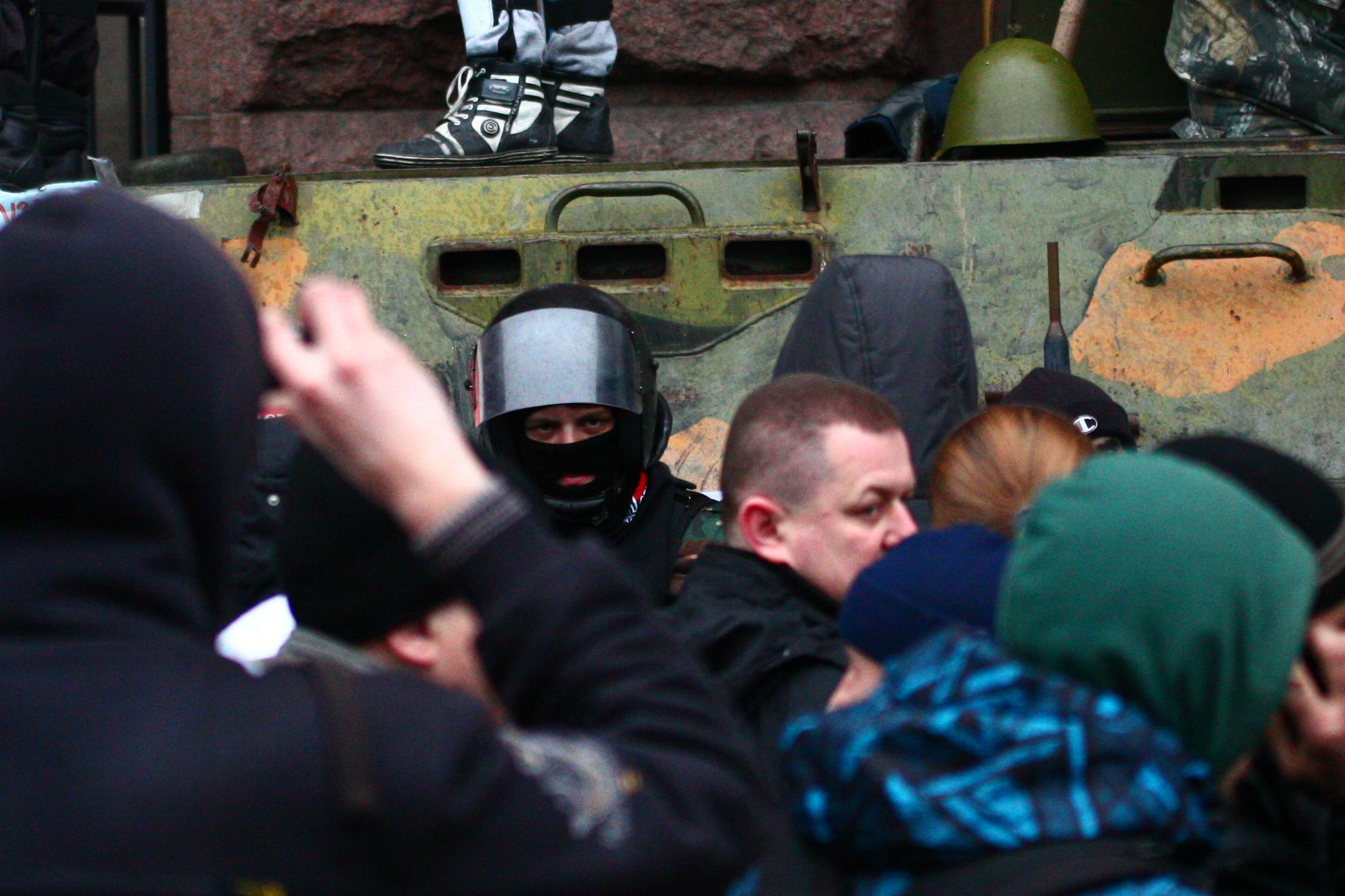 (2014) Kyiv Maidan End