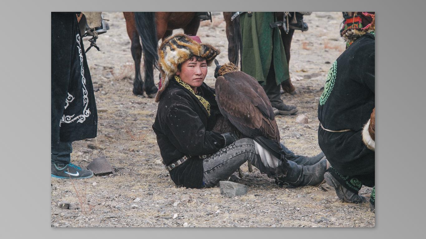 (2014) Mongolia 6 Eagle Festival